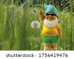 Garden Gnome With Sunglasses...