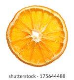 Dried Slice Of Orange Over...