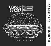Hand Drawn Burger Banner....