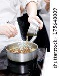 cook    Shutterstock . vector #175648889