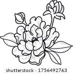decorative element art object...   Shutterstock .eps vector #1756492763