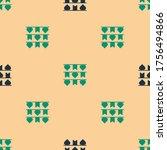 green and black carnival... | Shutterstock .eps vector #1756494866