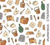 sauna accessories   washer ...   Shutterstock .eps vector #1756504436