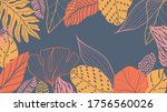 abstract background vector with ... | Shutterstock .eps vector #1756560026
