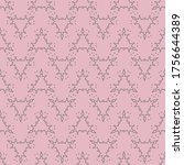 seamless pattern with a... | Shutterstock .eps vector #1756644389