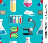 science laboratory background