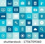trendy flat design big...   Shutterstock .eps vector #1756709360