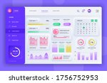 neumorphic dashboard ui kit....