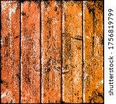 orange wood texture with... | Shutterstock .eps vector #1756819799