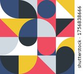 geometric minimalistic pattern...   Shutterstock .eps vector #1756838666