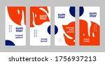 social media story mobile... | Shutterstock .eps vector #1756937213
