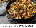 homemade fried potato with... | Shutterstock . vector #1756943909