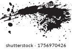 shrimp. fresh fish. brush... | Shutterstock .eps vector #1756970426