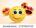 emoji love suitor vector design....   Shutterstock .eps vector #1757034710