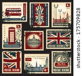 Set Of Stamps With The Union...