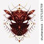 Vector Fire Owl. Logo Owl ...
