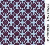 seamless pattern with a... | Shutterstock .eps vector #1757140283