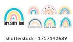 baby vector illustration hand... | Shutterstock .eps vector #1757142689