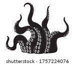 illustration of octopus... | Shutterstock .eps vector #1757224076