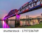 The Big Four Bridge Across The...