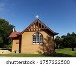 Beautiful Small Church On The...