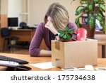 dismissal at work  weeping...