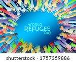 World Refugee Day  20 June....