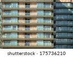 texture of a building outdoors | Shutterstock . vector #175736210