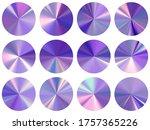 circle metallic gradient ux... | Shutterstock .eps vector #1757365226