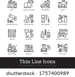 retail store product categories ... | Shutterstock .eps vector #1757400989
