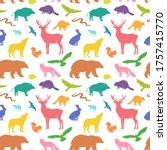 Vector Silhouette Animals...