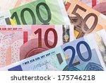 european banknotes  euro... | Shutterstock . vector #175746218