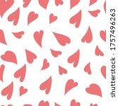 heart  abstract  seamless...   Shutterstock .eps vector #1757496263