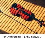 Irish Fiddle Or Violin On Hard...