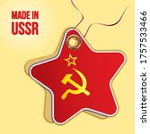 Made In Ussr. Flag Of The...