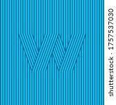 w logo. w monogram consist of...