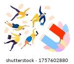 attraction customers marketing... | Shutterstock .eps vector #1757602880