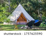 Glamping camping teepee tent...