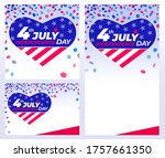 4th of july independence day....   Shutterstock .eps vector #1757661350