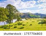 View Of River Dulas Valley At...