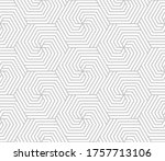 abstract geometric pattern with ... | Shutterstock . vector #1757713106