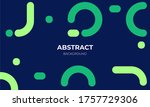 abstract geometric background.... | Shutterstock .eps vector #1757729306