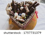 Sweet Heart Shaped Chocolate...