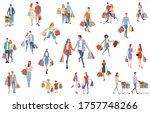 stock illustration  people who... | Shutterstock .eps vector #1757748266