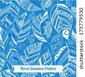floral seamless pattern... | Shutterstock .eps vector #175779530