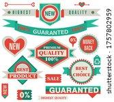 flat design discount and sale...   Shutterstock .eps vector #1757802959