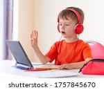 online courses for preschoolers.... | Shutterstock . vector #1757845670