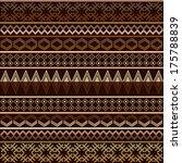 cappuccino tones geometrical...   Shutterstock .eps vector #175788839