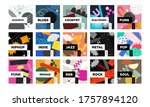 music type playlist. vector ...