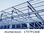 steel structure workshop and... | Shutterstock . vector #175791368